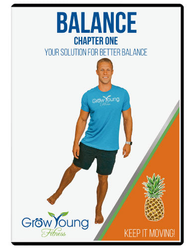 Better Balance Pack DVD - Grow Young Fitness Exercise DVD For Seniors