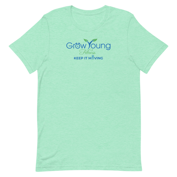 Short-Sleeve T-Shirt - Heather Mint