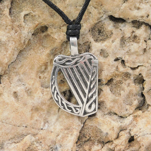 Other Guitars Harmony Jewelry Harp Necklace Pewter