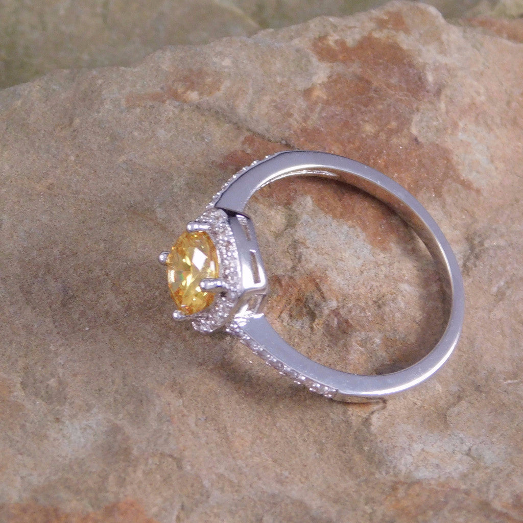 with eco first yellow moon rings watch canary ring engagement simulant diamond radiant