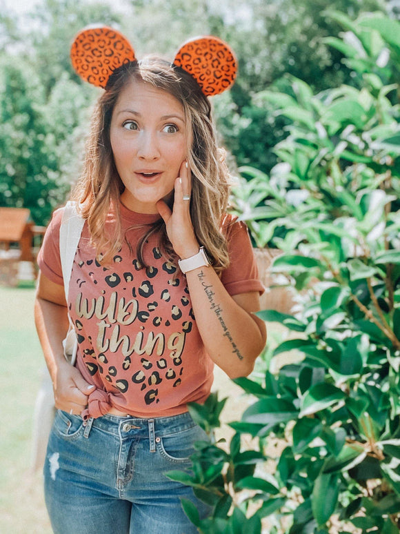 Wild Thing Leopard Tee
