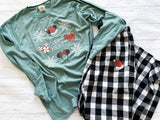 Ready to Ship Very Merry Tee - Ellie + Mae