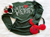Ready to Ship Very Merry Jersey - Ellie + Mae