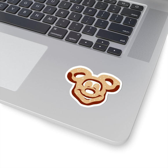 Mickey Pretzel Sticker / Salty Pretzel Sticker