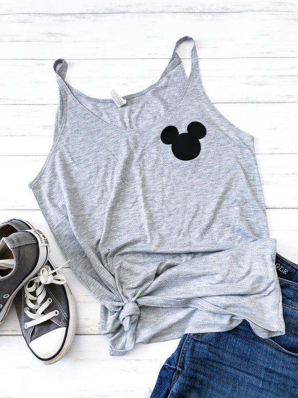Simple Mickey Tank - Ellie + Mae