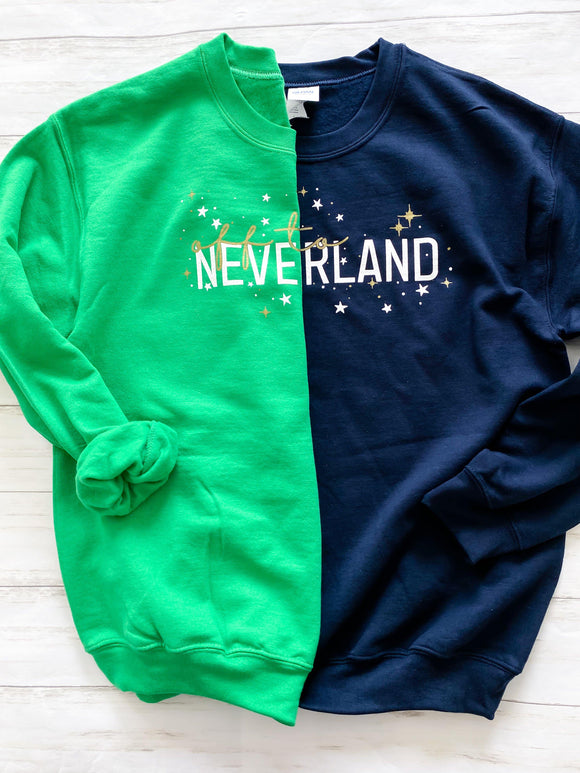 Ready to Ship Off to Neverland Sweatshirt