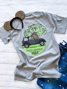 Take Me Somewhere Wild Tee - Ellie + Mae