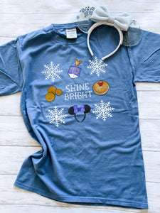 Ready to Ship Shine Bright Tee - Ellie + Mae