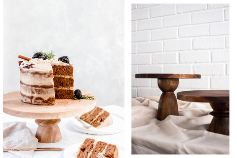 cake stands on KNUS.co