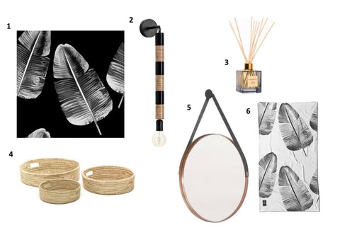Shop the look items for a beautiful bathroom from KNUS home decor