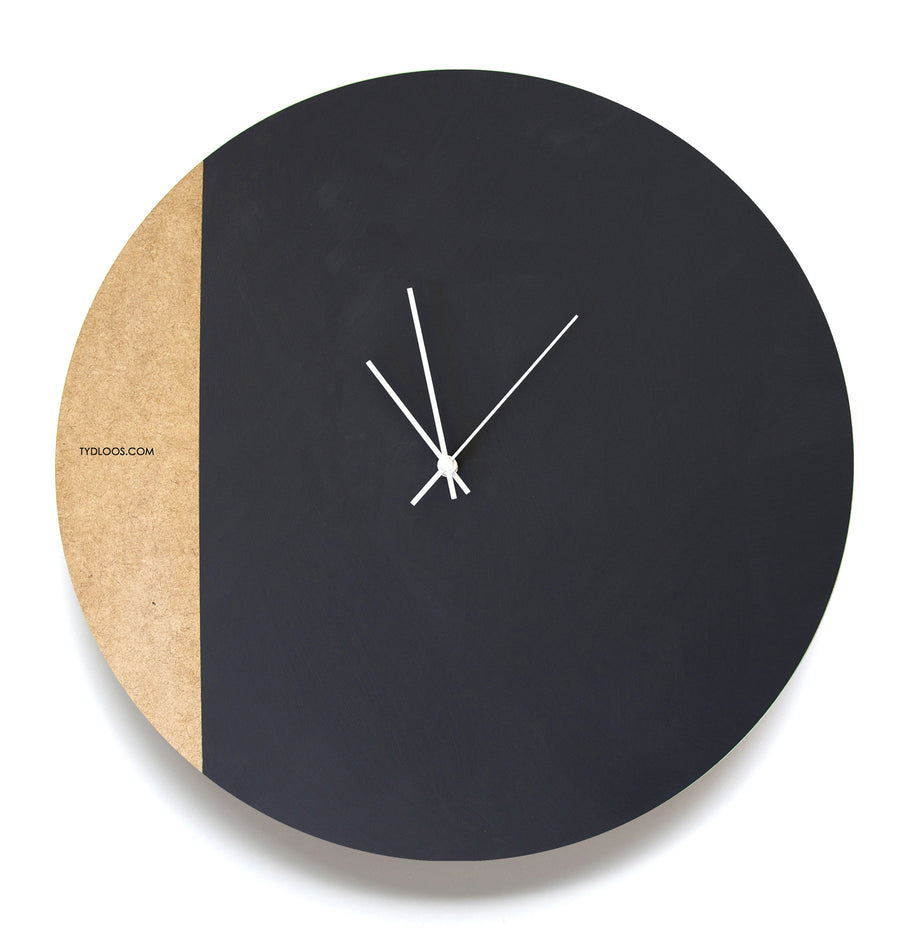 Large Spiral Wall Clock - KNUS