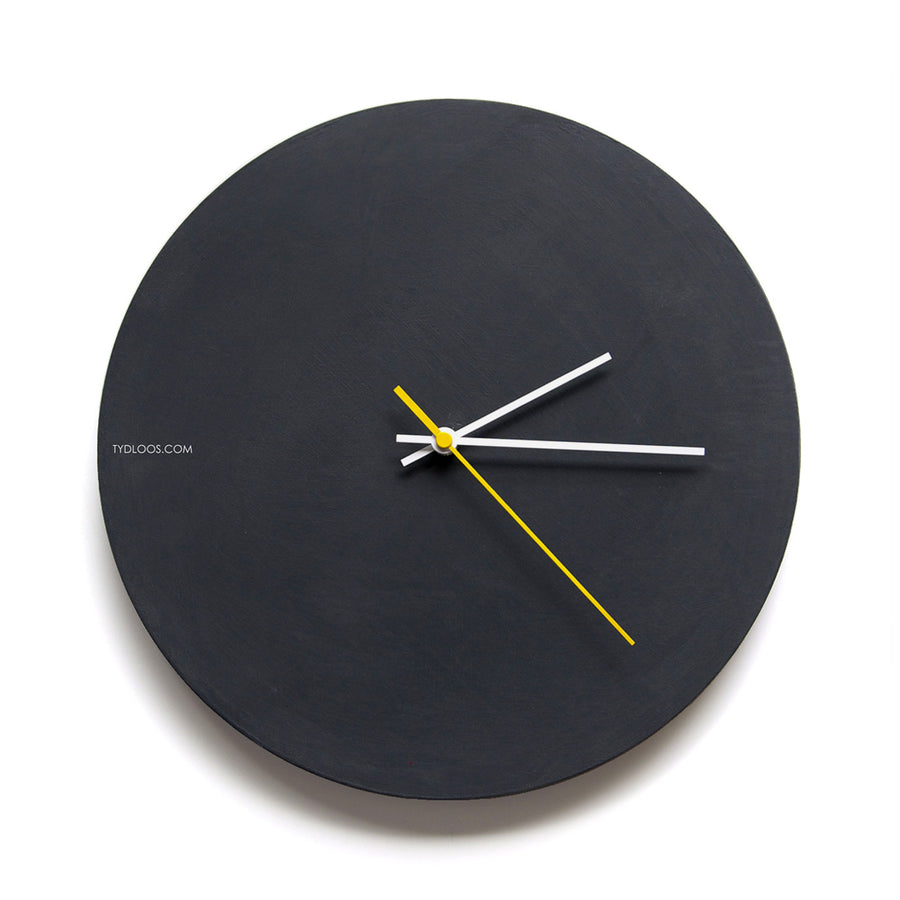 Black Board Wall Clock - KNUS