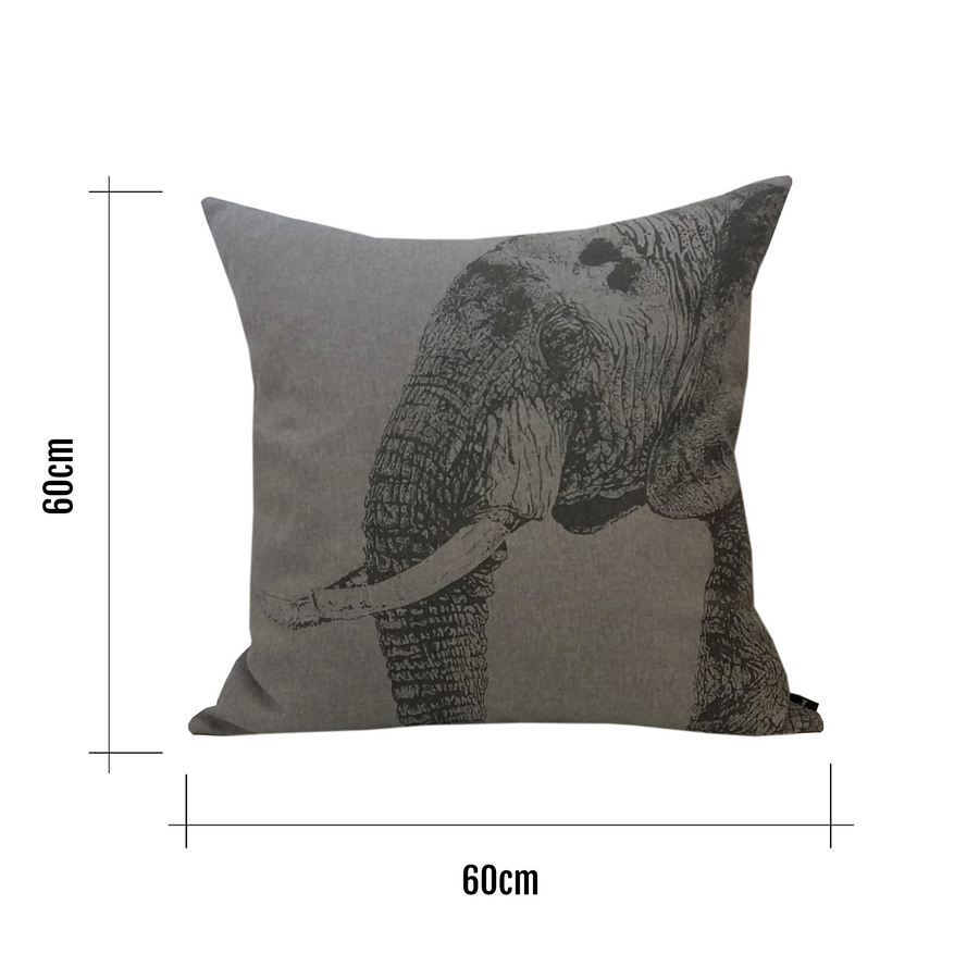 Elephant Scatter Cushion - KNUS