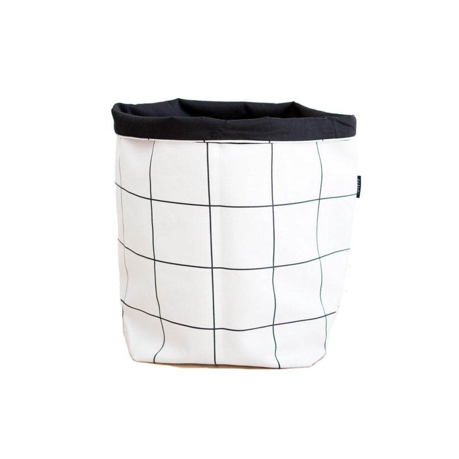 Grid Fabric Basket