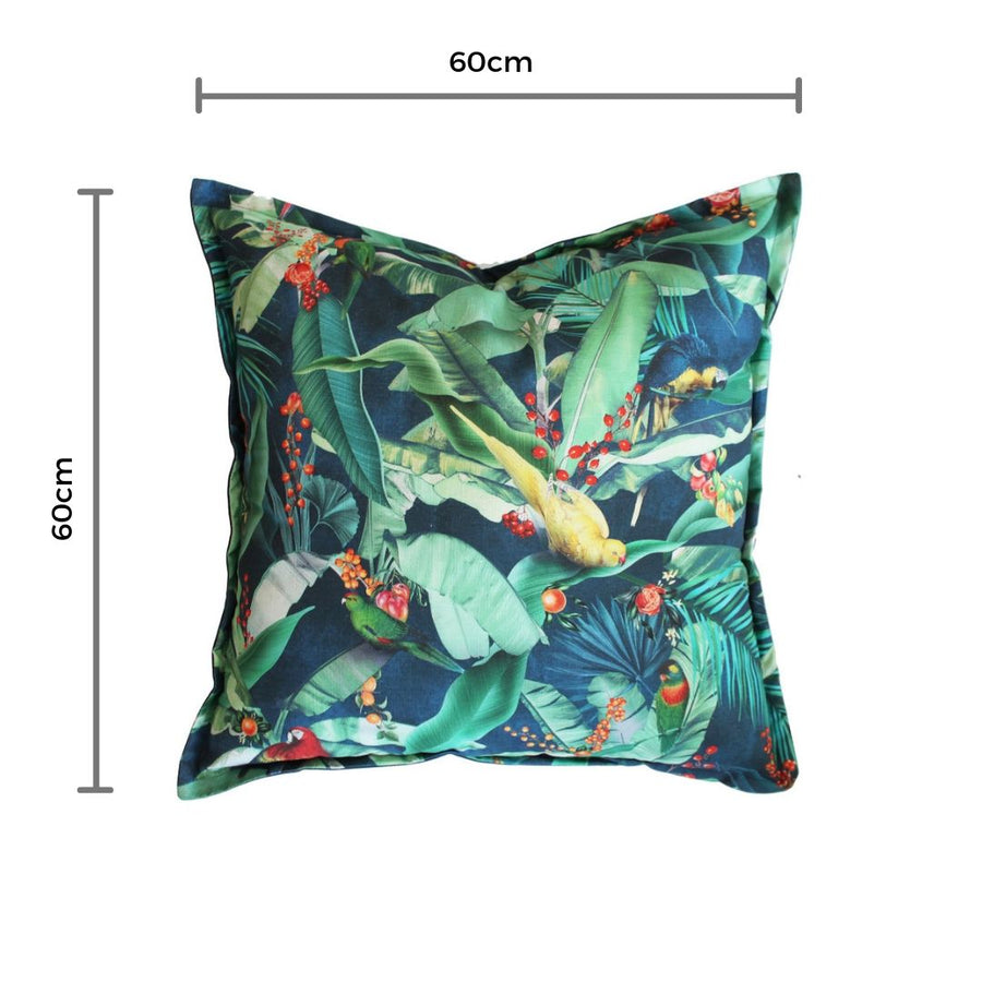 Macaw Midnight Scatter Cushion