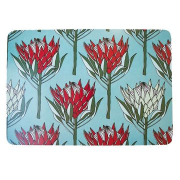 King Protea Red Placemat - KNUS