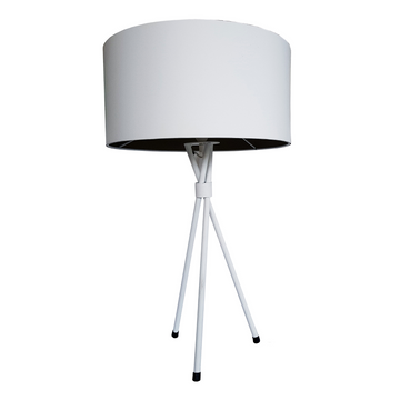 White Mia Table Lamp - KNUS