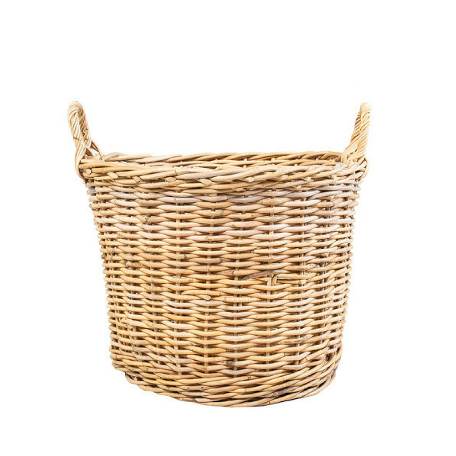 Wicker Basket Wide - KNUS