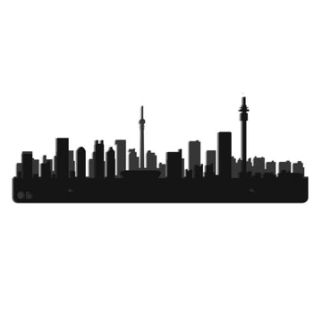 Johannesburg Skyline Steel Wall Art - KNUS