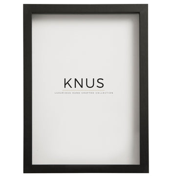 Black Shadow Box Frame - KNUS