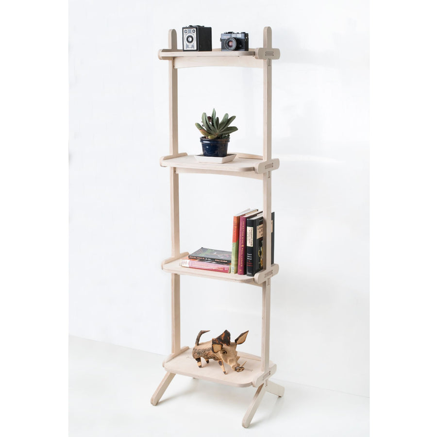 Splayed Book Shelf