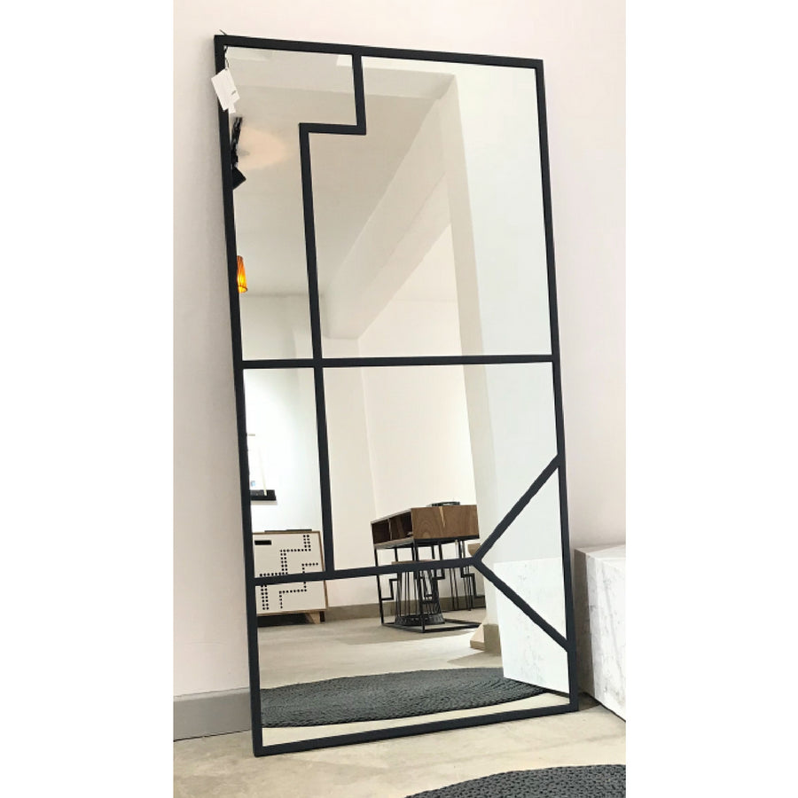 Ziyanda Steel Frame Tall Mirror