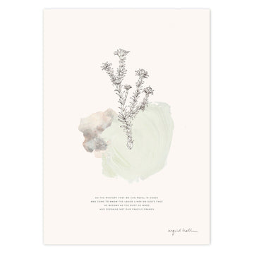 Revel in Grace Art Print - KNUS