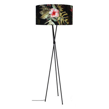 Tropical Mia Black Floor Lamp - KNUS