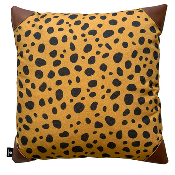 Leather & Leopard Scatter Cover - KNUS