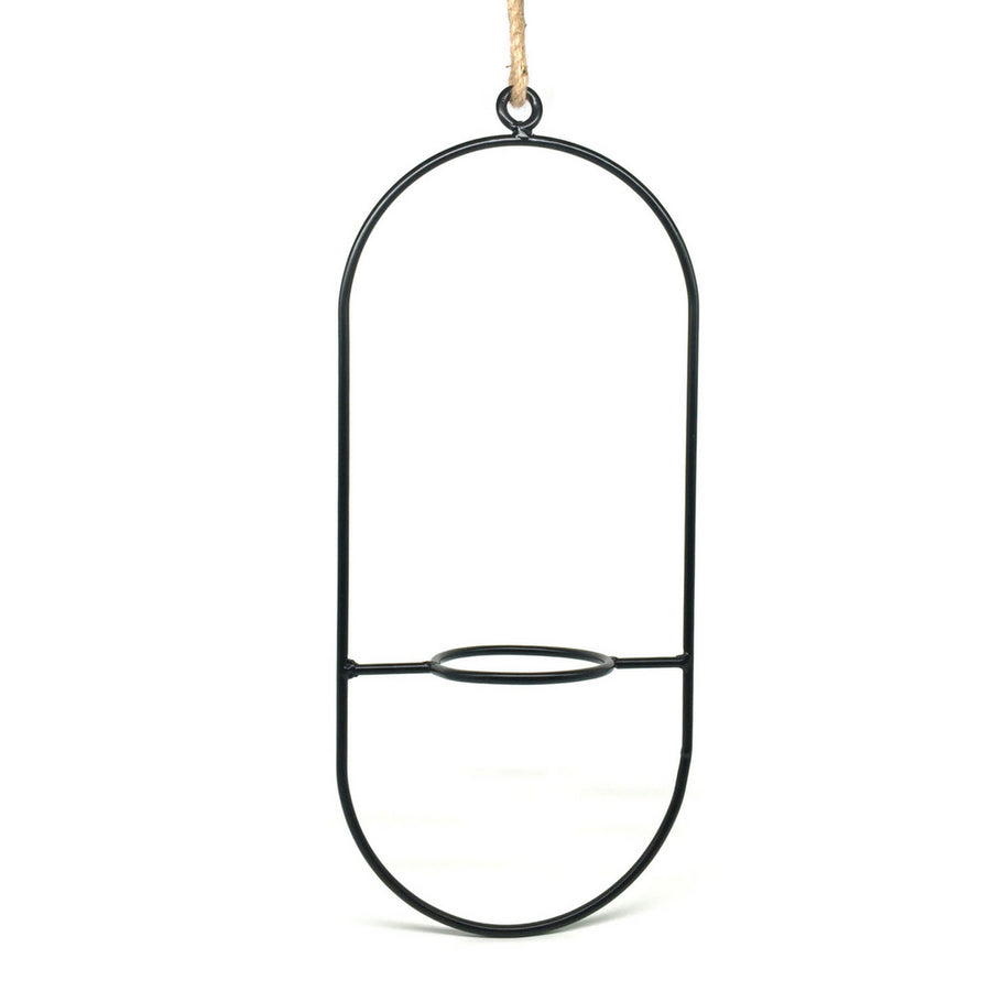 Pill Hoop Hanging Pot Plant Holder - KNUS