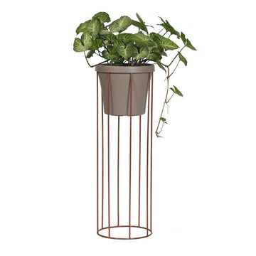 Tall Column Pot Plant Stand - KNUS