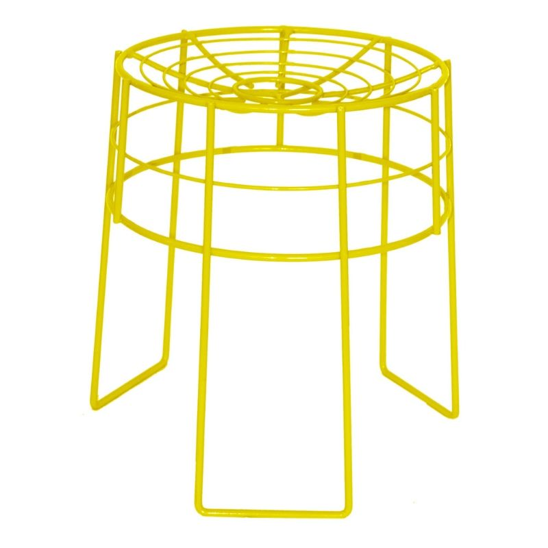 Yellow Wire Stool - KNUS