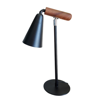 Wood Arm Swivel Lamp - KNUS