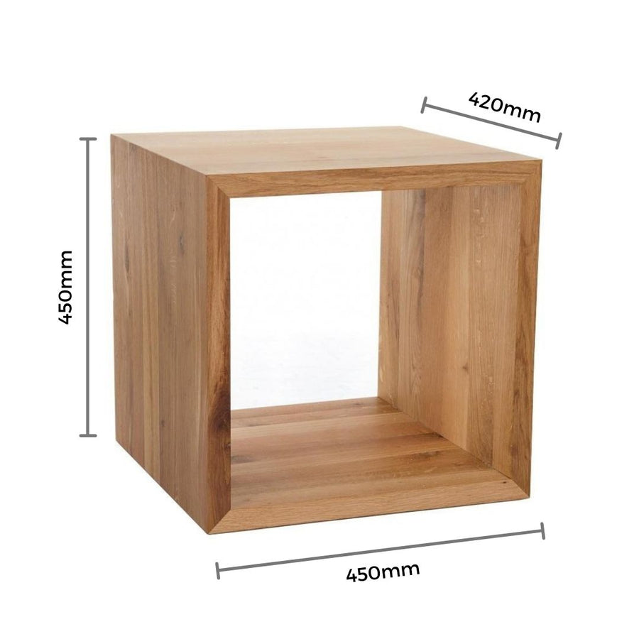 Oslo Cube Side table