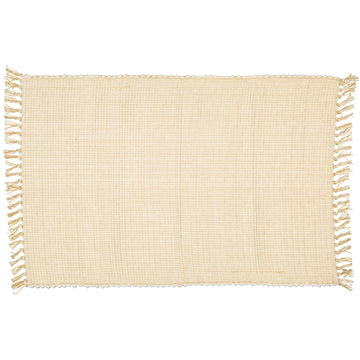 Dobby Natural Hessian Mat - KNUS