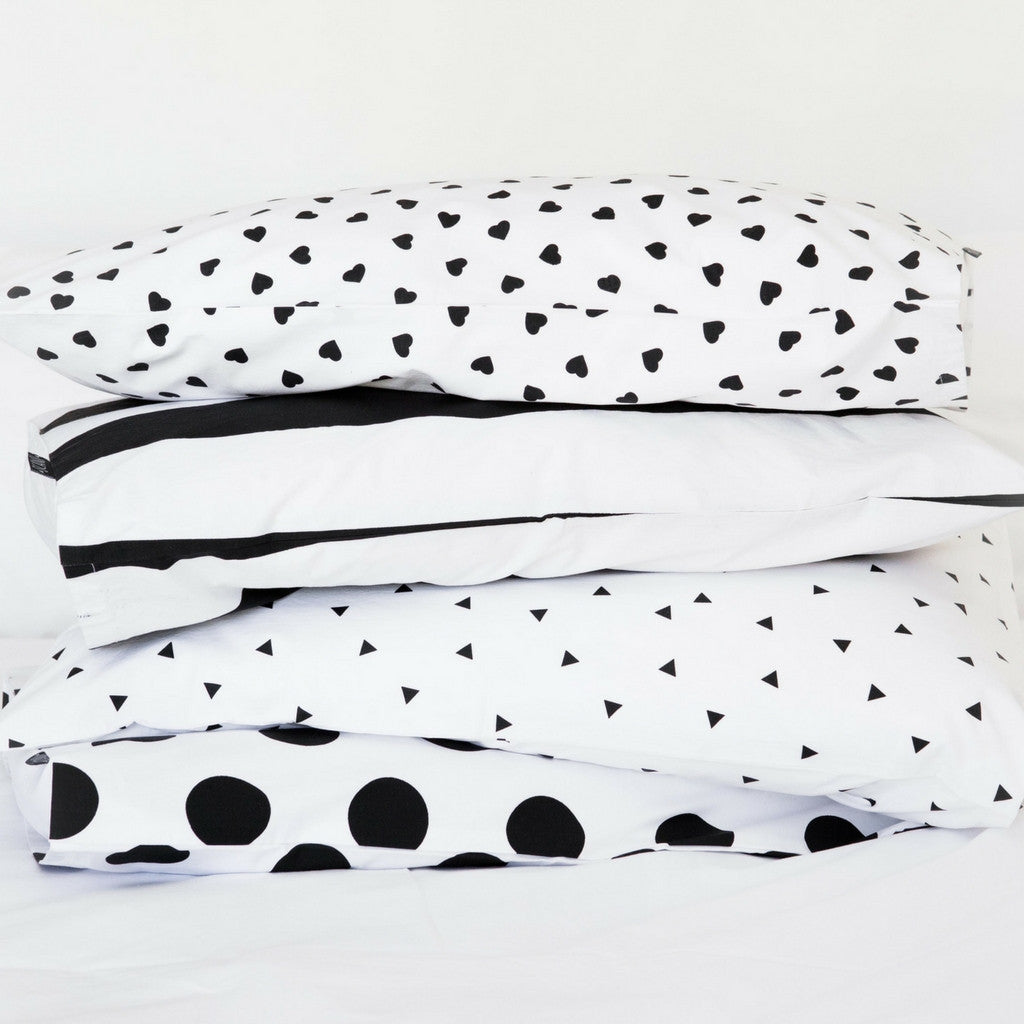 Stripe Pillowcase Set