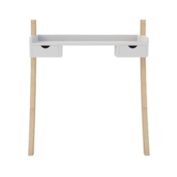 Leaning Desk Mini Drawers - White - KNUS