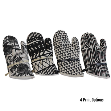 Charcoal Printed Kitchen Glove - KNUS