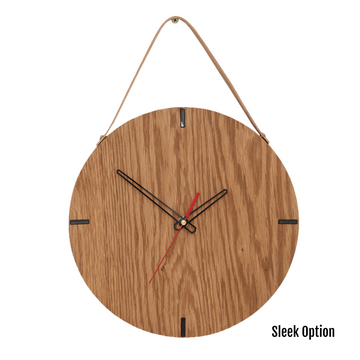 Finn Wall Clock in Oak - KNUS