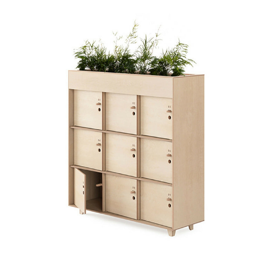 Fin Locker with Planter