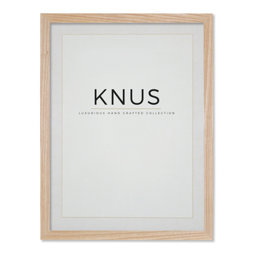 Ashwood Poster Frame with Mount - KNUS