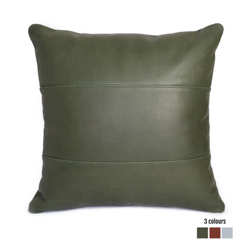 Leather Scatter Cushion - KNUS