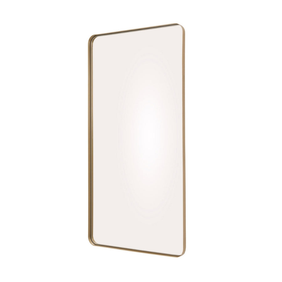 Metallic Deep Frame Soft Edge Mirror