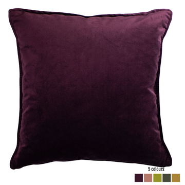Plain Velvet Scatter Cushion - KNUS