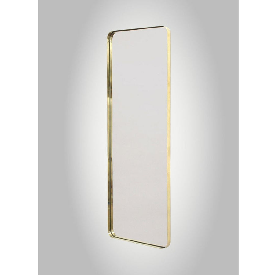 LED Backlit Brass Deep Frame Soft Edge Mirror