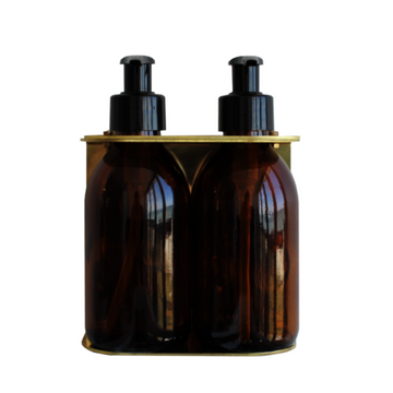 Double Brass Dispenser 200ml - KNUS