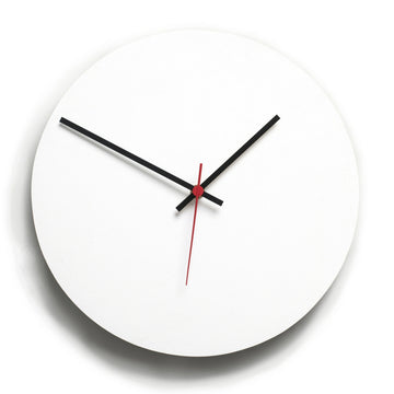 Round Clock White - KNUS