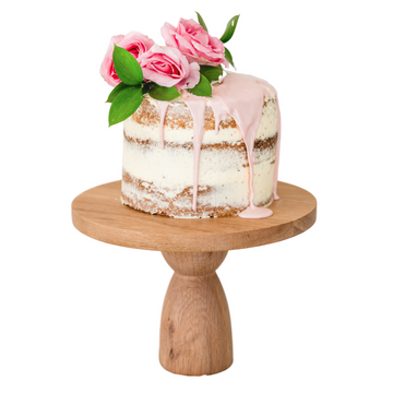 Tall Oak Cake Stand - KNUS