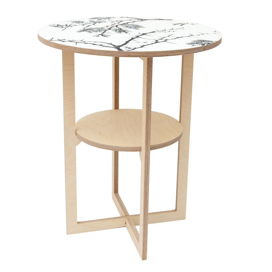 Camel Thorn Square Leg Side Table - KNUS