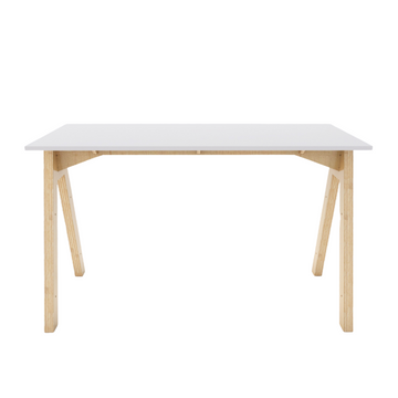 Simple A Desk - White - KNUS